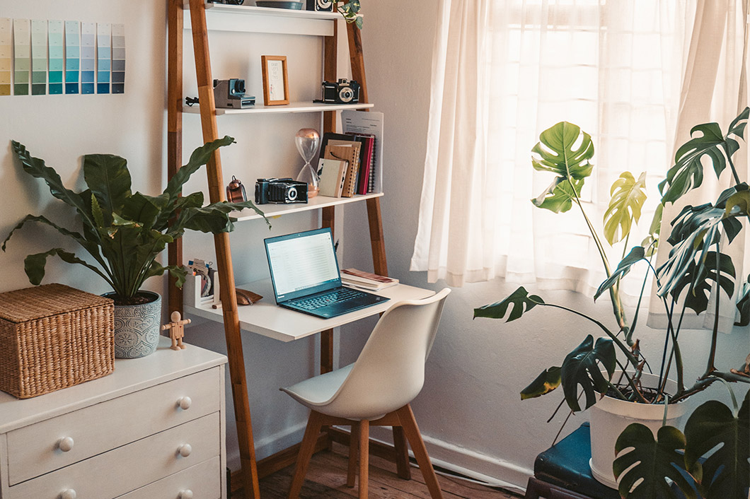Create the Ideal Space for Your Home Office that will Maximize Brain Power and Productivity