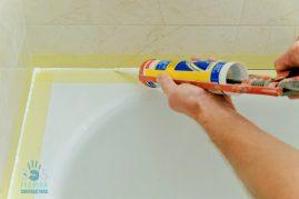 Fresh Bathroom Caulk