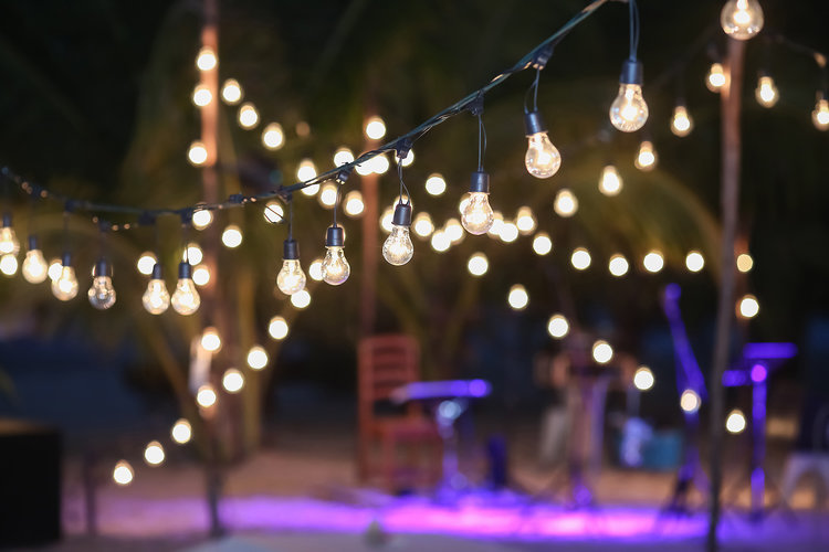 Make your home holiday ready with patio string lights